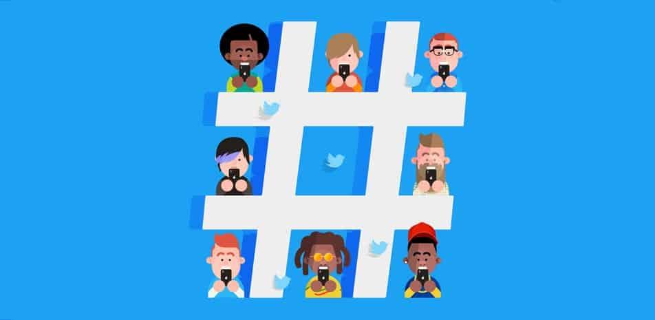 Use Hashtags for Social Media Marketing - Infintech Designs