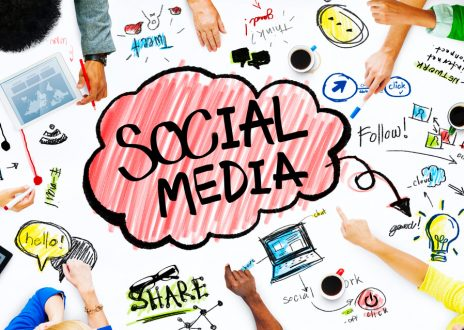 Business People with Social Media Concept - Infintech Designs