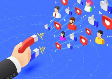 Marketing magnet engaging followers - Infintech Designs