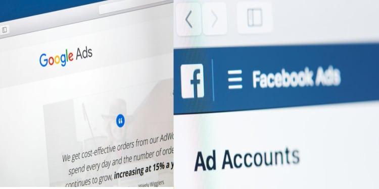google ads & facebook ads
