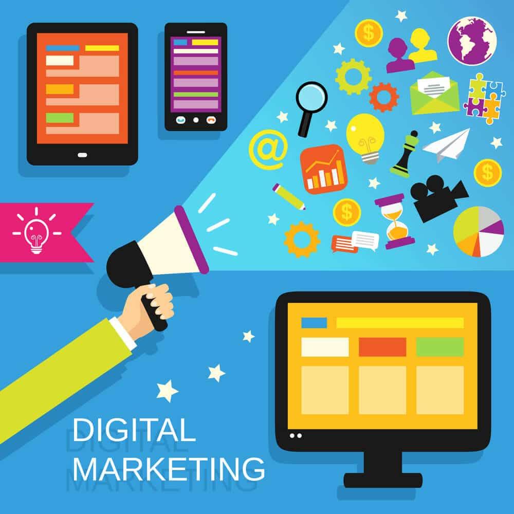 Digital marketing set - Infintech Designs