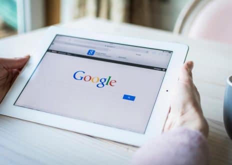 Google in Ipad