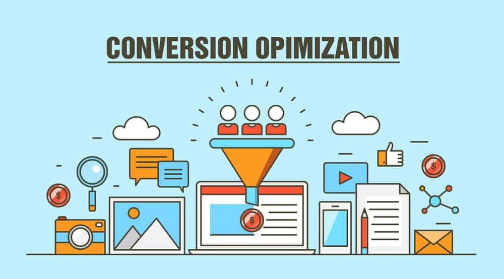 Conversion optimization vector concept - Infintech Designs