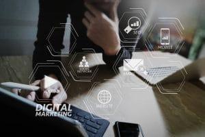 Digital marketing media (website ad, email, social Network) - Infintech Designs