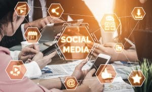 Social media and people network technology - Infintech Designs