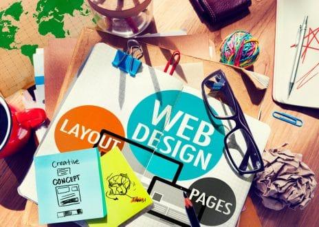 digital marketing and web design california