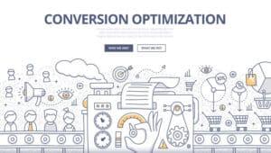 Conversion Optimization Doodle Concept - Infintech Designs